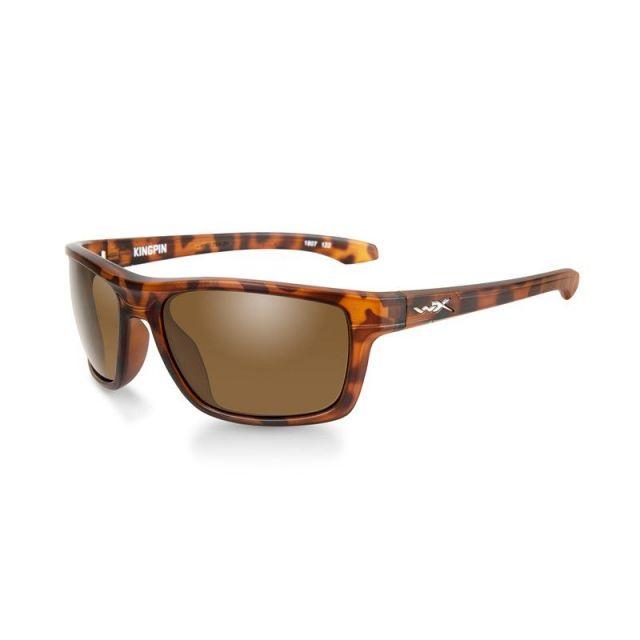 WileyX Kingpin braun Rahmen demi matt Sonnenbrille