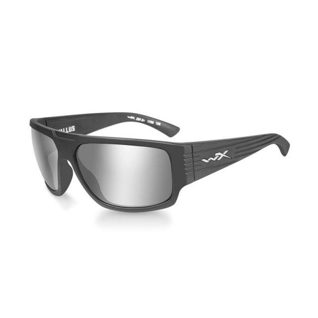 WileyX Vallus grau silber Rahmen matt graphit Sonnenbrille