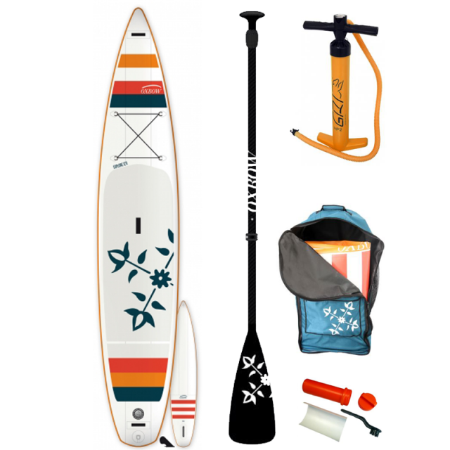 Oxbow 12'6 Air SUP + Paddel 2018 x 28 aufblasbares Stand Up Paddle Board