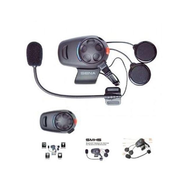 Sena SMH5 Single Bluetooth Headset Integralhelm