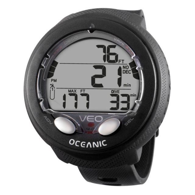 Oceanic Veo 4.0 Tauchcomputer Uhr Dual Algorithmus schwarz