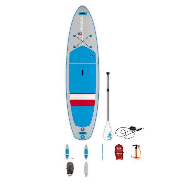 Bic 11'0 Wing Air SUP + Paddel 2019 x 32 aufblasbares Stand Up Paddle Board