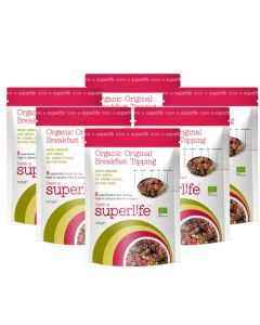 6x Oatmeal and Breakfast Superfood Topping - 300gr