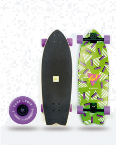 Surf Logic Longboard 90s Surfskate Komplett