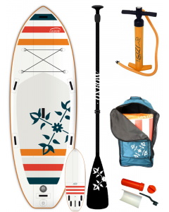 Oxbow 9'2 Air SUP + Paddel River Air 2018 x 36 aufblasbares Stand Up Paddle Board