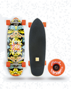 Surf Logic Longboard Tropical Heat Cruiser Komplett